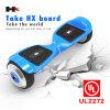 De in het groot Goedgekeurde Afneembare Batterij 6.5inch van de Fabrikant Hx UL2272 met Bluetooth Hoverboard