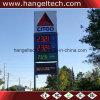 16 напольная доска знака цены дюймов газа/масла/бензозаправочной колонка доказательства СИД воды