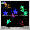Lichte LEIDENE van de Decoratie van Kerstmis van de Ster van het Koord van Kerstmis van het Koord van de ster Lichten van Lichte Batterij In werking gestelde Lichte RGB Kerstmis van het Koord de Lichte