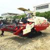 arroz da agricultura da alimentação 4kg e ceifeira cheios do trigo