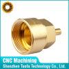 Douane CNC die de Vrouwelijke Adapter van het Messing machinaal bewerkt