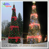 Grande luz artificial ao ar livre gigante da decoração da árvore de Natal do PVC