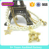 Form-Schmucksache-Gold überzogenes Perlen-Charme-Armband