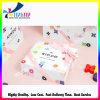 Caja de regalo cosmética rígida de la impresión de papel con la cinta
