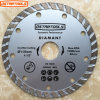 Diamante Flat Turbo Saw Blades para Dry y Wet Cutting
