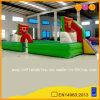 Juego inflable Footabll del deporte y patio del baloncesto (AQ1801-1)