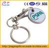 Het Stempelen van het ijzer het Karretje Keychain van het Metaal met Muntstuk
