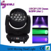 12W * 19PCS 4in1 LED Stage Moving Head Wash Light (HL-004BM)