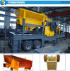 Broyeur mobile de vente d'équipement chaud d'extraction de l'or pour l'usage de carrière