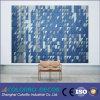 Los paneles insonoros decorativos caseros de las lanas de madera de la pared interior