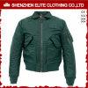 Оптовая темнота людей способа - зеленое пальто зимы бомбардировщика (ELTBJI-37)