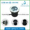 IP68 impermeabilizan la luz subacuática subterráneo al aire libre del LED