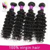 100% extensão do cabelo humano de Remy, cabelo natural do brasileiro do Virgin