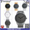 El nuevo cuarzo de la alta calidad del diseño Yxl-341 mira el reloj de encargo de lujo promocional de los hombres del reloj de Mens del calendario de la venda de acero del acoplamiento