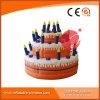 Riesiges aufblasbares Geburtstag-Kuchen-Modell-Geschenk-Erscheinen für Geburtstagsfeier (P1-206)