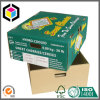 Коробка гофрированной бумага цвета сладостных вишен упаковывая для банана