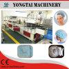 Tampão Bouffant do chuveiro descartável plástico não tecido automático que faz o fabricante da maquinaria