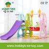 赤ん坊(HBS17030A)のためにセットされる2017屋内屋外のプラスチックスライドおよび振動