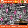 Papier peint à la maison imperméable à l'eau 3D de papier de mur de PVC