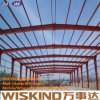 Colonna resistente del vento di costruzione d'acciaio, struttura d'acciaio prefabbricata per il magazzino d'acciaio
