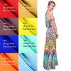 100%の絹のクレープDeチャイン14mm 114cmの幅の平野は女性服のためのファブリックを染めた