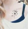 Tatuaje temporal impermeable del arte de la etiqueta engomada del tatuaje de la carrocería de moda