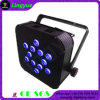 Indoor 12X12W bateria do controle remoto LED PAR Disco