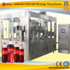 Machine de remplissage carbonatée automatique de boissons d'alcool