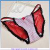 Cuecas sexy da cor nova da mistura do engranzamento do roupa interior das mulheres do projeto