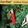 Jogo de 10 velas mornas do Natal do diodo emissor de luz da luz branca