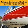바다 선체 & 열 살포 기계 장비/서비스를 입히는 구조 배 반대로 부식