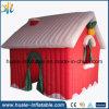 De goedkope Opblaasbare Reclame van Kerstmis, het Opblaasbare Huis van Kerstmis