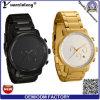 Yxl-174昇進新しいデザインメンズウォッチのステンレス鋼のリスト・ストラップの高品質のクロノグラフの日付クロック腕時計の方法ビジネスマンの腕時計の人