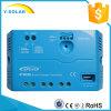 태양 20A 12V/24V USB 5V/1.2A 또는 LED Ls2024EU를 가진 관제사 운전사
