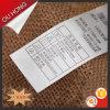 Etiqueta de cuidado Eco-Friendly feita sob encomenda da fita do cetim