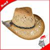 Chapéu de palha de papel. Chapéu de vaqueiro,