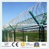 Aeroporto o recinzione militare del filo delle lamette