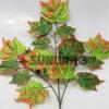 인공적인 정원 회양목 잎 산울타리 담