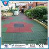 Квадратная резиновый плитка/рециркулирует резиновый плитку плитки/резины гимнастики