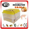 Garantie de 1 an retenant le prix complètement automatique d'établissement d'incubation d'incubateur d'oeufs de 96 oeufs