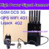 Emisión de la señal del GPS del poder más elevado de 8 antenas