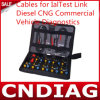 Kabels voor de Diesel CNG van de Link Ialtest Diagnostiek van de Bedrijfsauto