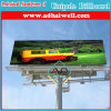 Doble cara exterior Billboard Trivision Publicidad Display (W18 XH 6 m)