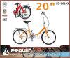 승진! 20  단 하나 속도 강철 접히는 자전거에 의하여 접히는 자전거 (FD-2010S)