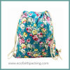 Мешок пыли Backpack Drawstring хлопка