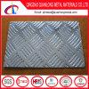 Piatto Checkered di alluminio dell'impronta con il reticolo della bussola delle cinque barre