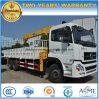 La qualité de roues de LHD Dongfeng 6*4 10 12 tonnes de camion a monté avec le camion de grue