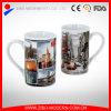 ニューヨークデザインの急に燃え上がったシリンダー形のコーヒーカップ