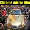 Гибкая пленка обруча автомобиля золота крома