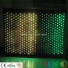 LED-feuerfester Gewebe-Stufe-Partei-Dekoration-Anblick-videotrennvorhang LED